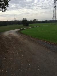 """Strecke vom """"Lindenhof"""" zur Staatsstraße 2443"""