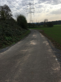 """Auch noch die Strecke vom """"Lindenhof"""" zur Staatstraße 2443"""