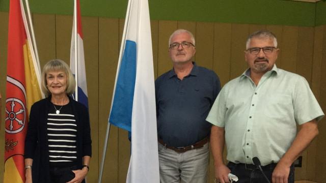 v.l. Fraktionsvorsitzende Anni Christ-Dahm, Dr. Wolfgang Röder, Hans-Dieter Herbert